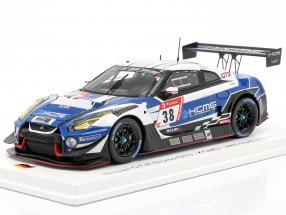 Nissan GT-R Nismo GT3 #38 24h Nürburgring 2019 KCMG 1:43 Spark
