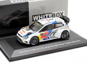Volkswagen VW Polo R WRC #2 Winner Rallye Schweden 2014 Latvala, Anttila 1:43 WhiteBox