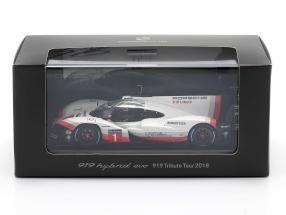 Porsche 919 Hybrid Evo #1 919 Tribute Tour 2018 Signature Edition