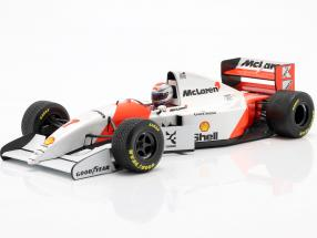 Michael Andretti McLaren MP4/8 #7 6th European GP formula 1 1993 1:18 Minichamps