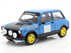 Autobianchi A112 Abarth MK5 Chardonnet 1980 blue / black 1:18 Solido