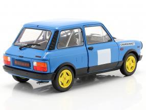 Autobianchi A112 Abarth MK5 Chardonnet 1980 blue / black