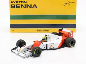 Ayrton Senna McLaren MP4/8 #8 Winner Japan GP Formel 1 1993 1:18 Minichamps