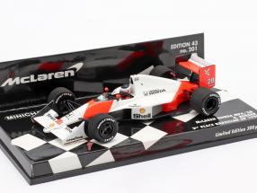 Gerhard Berger #28 McLaren MP4/5B 2nd Brasilien GP F1 1990 1:43 Minichamps