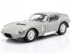 Shelby Cobra Daytona Coupe year 1965 silver metallic 1:18 ShelbyCollectibles