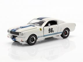 Shelby GT-350R #98B Racing version 1965 white / blue 1:64 ShelbyCollectibles