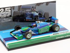 M. Schumacher Benetton B194 #5 European GP F1 World Champion 1994 1:43 Minichamps