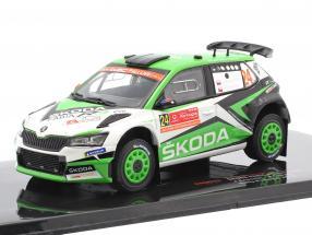 Skoda Fabia R5 Evo #24 8th Rallye Portugal 2019 Kopecky, Dresler 1:43 Ixo