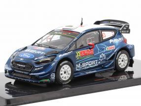 Ford Fiesta WRC #33 5th Rallye Portugal 2019 Evans, Martin 1:43 Ixo