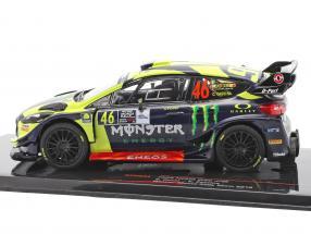 Ford Fiesta WRC #46 Winner Monza Rallye Show 2018 Rossi, Cassina