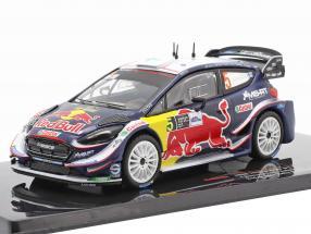 Ford Fiesta WRC #5 2nd Monza Rallye Show 2018 Suninen, Salminen 1:43 Ixo