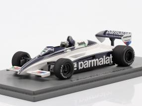 Riccardo Patrese Brabham BT50 #2 5th Swiss GP formula 1 1982 1:43 Spark