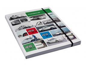 Notebook Porsche RS 2.7 / DINA4
