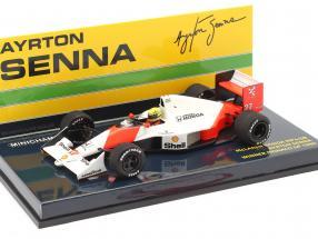 Ayrton Senna McLaren MP4/5B #27 World Champion Monaco GP F1 1990