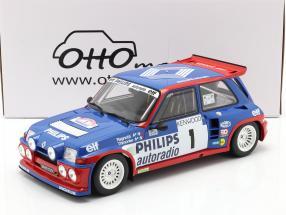 Renault Maxi 5 Turbo #1 Tour de Corse 1985 Ragnotti, Thimonier 1:12 OttOmobile
