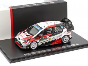 Toyota Yaris WRC #8 3rd Rallye Monte Carlo 2019 Tänak, Järveoja 1:43 Spark