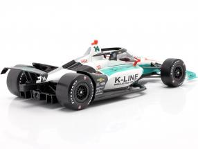 Dalton Kellett Chevrolet #14 Indycar Series 2020 A. J. Foyt Enterprises 1:18 Greenlight