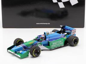 Jos Verstappen Benetton B194 #6 3rd Hungarian GP formula 1 1994 1:18 Minichamps