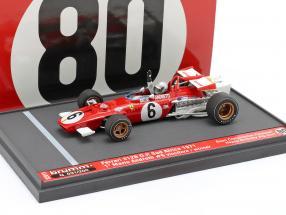 Mario Andretti Ferrari 312B #6 Winner South African GP formula 1 1971 1:43 Brumm