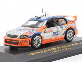 Hyundai Accent WRC #71 Rally Monte Carlo 2004 Beres, Stary 1:43 Ixo