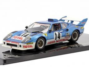 Ligier JS2 Maserati #14 Chasseuil, Leclere LeMans 1974 1:43 Ixo