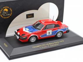 Triumph TR7 V8 #5 Winner Manx Rally 1978 Pond, Gallagher 1:43 Ixo