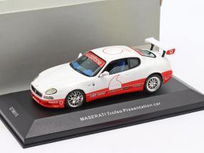 Maserati Coupe Trofeo Presentation car year 2003 white 1:43 Ixo