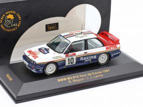 BMW M3 #10 Tour de Corse 1987 Beguin, Lenne 1:43 Ixo