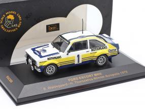 Ford Escort MKII #1 Winner Acropolis 1979 Waldegaard, Thorszelius 1:43 Ixo