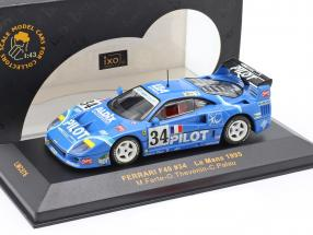 Ferrari F40 #34 Le Mans 1995 Ferte, Thevenin, Palau 1:43 Ixo