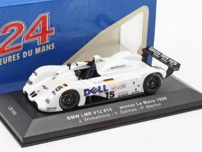 BMW LMR V12 #15 winner Le Mans 1999 Winkelhock, Dalmas, Martini 1:43 Ixo