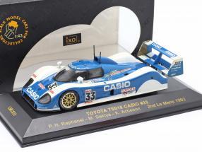 Toyota TS010 #33 2nd Le Mans 1992 Raphanel, Sekiya, Acheson 1:43 Ixo