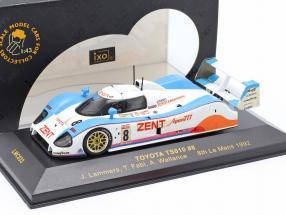 Toyota TS010 #8 8th Le Mans 1992 Lammers, Fabi, Wallance 1:43 Ixo