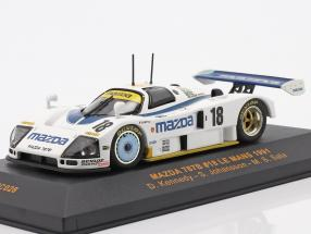 Mazda 787B #18 Le Mans 1991 Kennedy, Johansson, Sala 1:43 Ixo