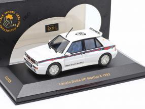 Lancia Delta HF Martini 6 year 1992 white 1:43 Ixo
