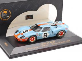 Ford GT 40 #9 Winner Le Mans 1968 Rodriguez, Bianchi 1:43 Ixo