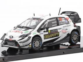 Toyota Yaris WRC #10 Rallye Sweden 2020 Latvala, Hänninen 1:43 Ixo