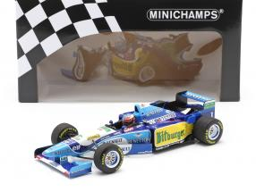 M. Schumacher Benetton B195 #1 German GP F1 World Champion 1995 1:18 Minichamps