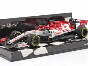 Kimi Räikkönen Alfa Romeo Racing C39 #7 Launch Spec F1 2020 1:43 Minichamps