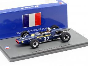 Jorge de Bagration Lola T100 #32 GP de Pau formula 2 1968 1:43 Spark