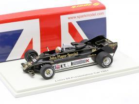 Colin Chapman Lotus 88 #11 Presentation Car formula 1 1981 1:43 Spark