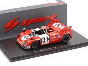 Porsche 908/03 #31 24h LeMans 1974 Torredemer, Fernandez, Tramont 1:43 Spark