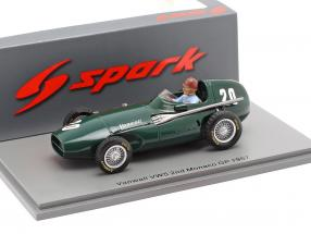 Tony Brooks Vanwall VW57 #20 2nd Monaco GP formula 1 1957 1:43 Spark