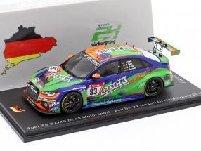 Audi RS3 LMS #93 2nd SP 3T 24h Nürburgring 2019 Bonk Motorsport 1:43 Spark