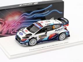 Ford Fiesta WRC #44 Rallye Monte Carlo 2020 Greensmith, Edmondson 1:43 Spark