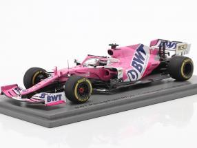 Sergio Perez Racing Point RP20 #11 Test Barcelona formula 1 2020 1:43 Spark