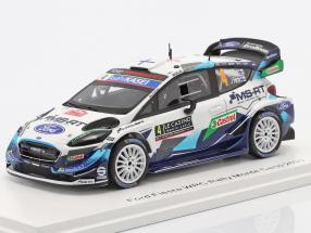 Ford Fiesta WRC #4 4th Rallye Monte Carlo 2020 Lappi, Ferm 1:43 Spark