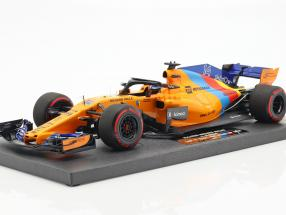 F. Alonso McLaren MCL33 #14 Almost Last F1 Race Abu Dhabi 2018 1:18 Minichamps