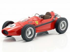 Luigi Musso Ferrari Dino 246 #34 2nd Monaco GP formula 1 1958 1:18 CMR