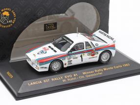 Lancia 037 rally Evo #1 Winner rally Monte Carlo 1983 Rohrl, Geistdorfer 1:43 Ixo